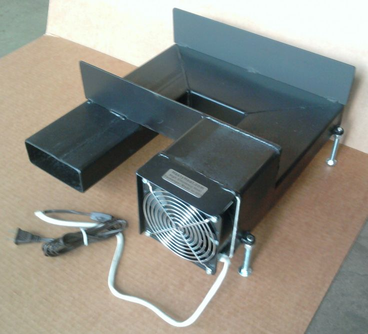 14 Hth Fireplace Grate Heater Heat Exchanger Hot Blower