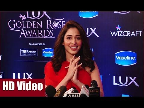 Tamannaah at the red carpet of Lux Golden Rose Awards 2016 | Bollywood News Villa.  #tamannaah #luxgoldenroseawards2016 #goldenroseawards2016 #goldenroseawards #bollywood #bollywoodnews #bollywoodgossips #news #gossips #bollywoodnewsvilla #awards #bollywoodawards