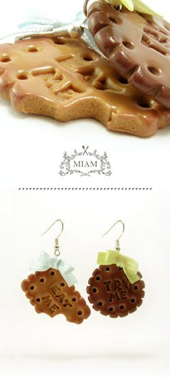 : Food Fashion, Crafts Ideas, Gourmandises En, Clay Charms, Eating, Gourmandi En, Things, En Fimo