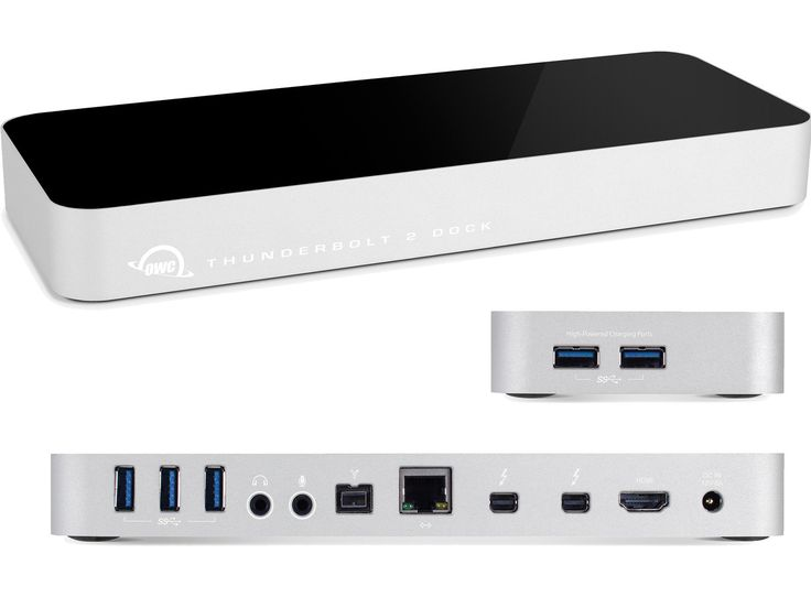 OWC 12 Port Thunderbolt 2 Dock - with 1 Metre Thunderbolt Cable, OWCTB2DOCK12T1