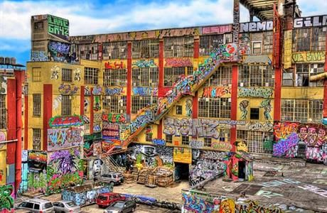 "Learning from 5 Pointz: what the graffiti mecca teaches us about the creation of public space  The famed warehouse site in Queens, New York, destroyed definitively last year, was about much more than just the place of graffiti in society. It highlighted precisely how we engage democratically in the creation of public space, especially in the creation of spaces that suggest alternative ways of forming a ""public"", as Matt DelSesto argues."