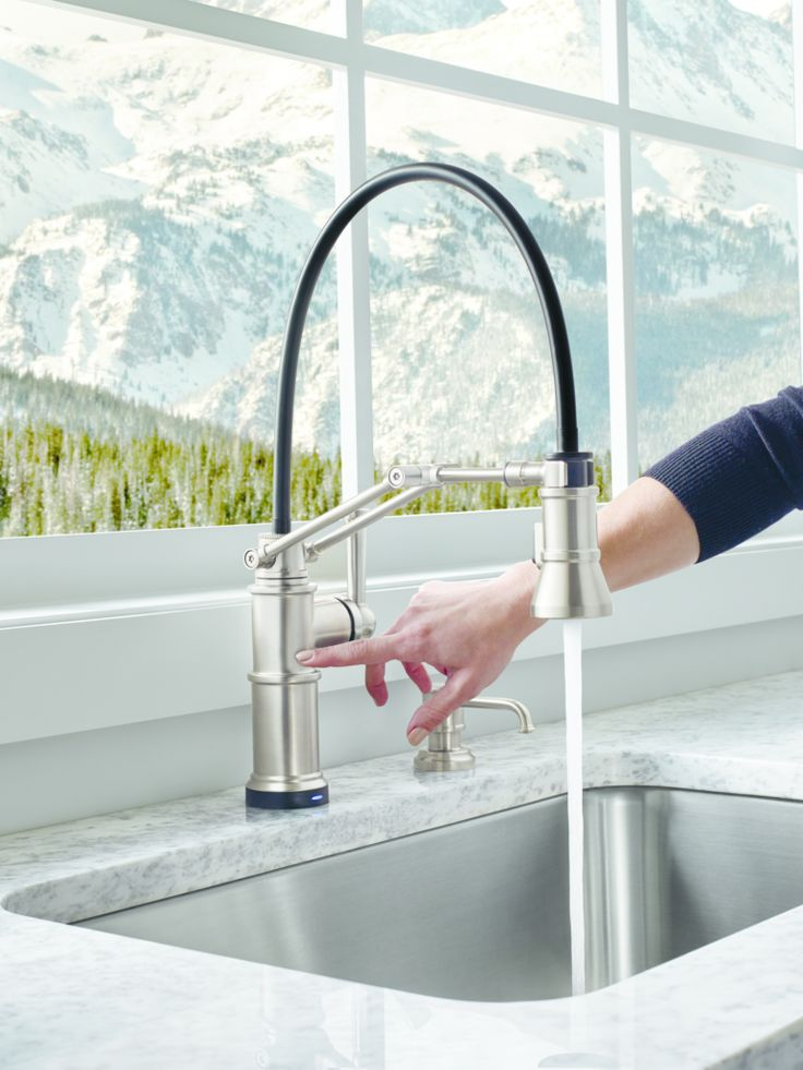 Brizo Continues To Evolve Its Kitchen Category Offerings With A Collection  Of Articulating Kitchen Faucets,
