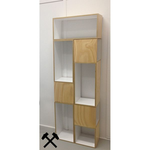 Work-Shop by MGDC storage A - 300.300.300 and B- 300.300.600. Sustainable Australian plantation plywood with no voc paint finish available in a range of colours from our website. www.work-shop.net.au