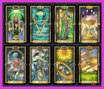nice Kupa Saraylı Tarot Kartları