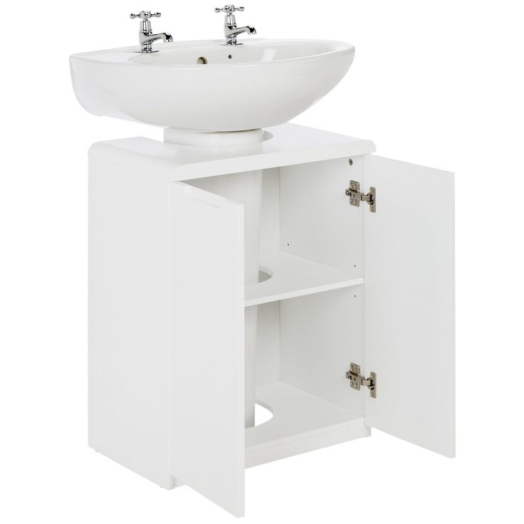 Photo Gallery For Website Buy Hygena Curve Under Sink Storage Unit White at Argos co uk