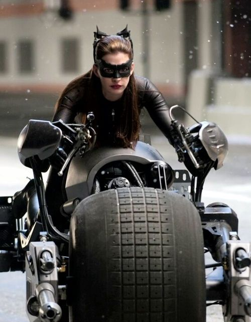 Catwoman..... Riding