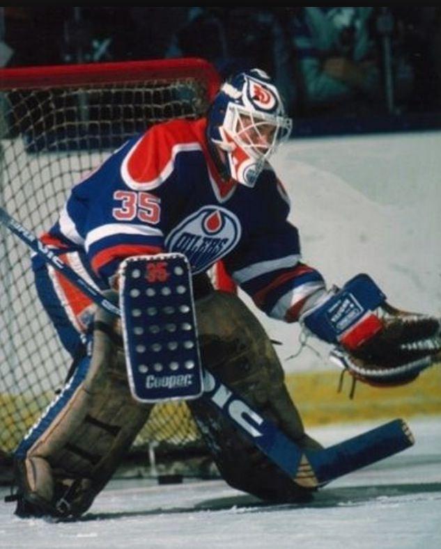 Edmonton Oilers - Andy Moog