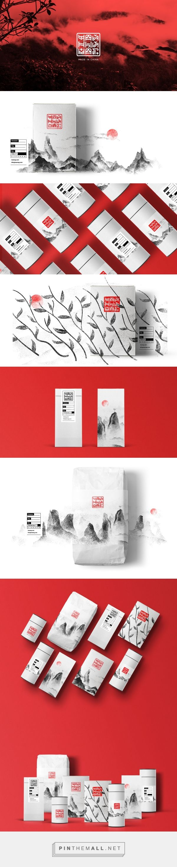 ChainiyMag Online Tea Store Packaging by Kirill Moskvich | Fivestar Branding Agency – Design and Branding Agency & Curated Inspiration Gallery
