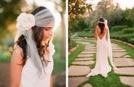 Wedding dress #hair