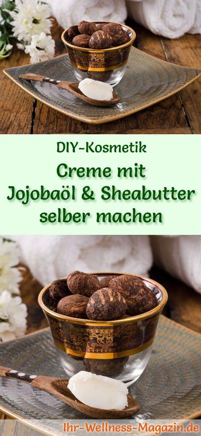 Gesichtscreme selber machen: So können Sie eine Creme mit Jojobaöl und Sheabutter selber machen, probieren Sie das folgende Rezept mit Anleitung ...