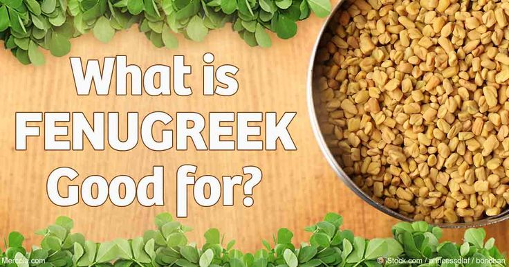 Studies show fenugreek may increase testosterone levels and libido for men, and…