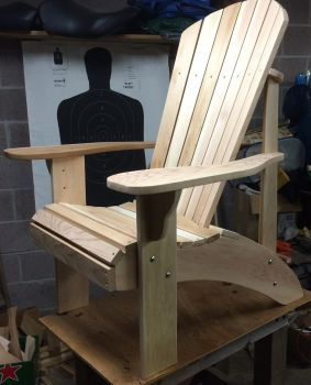 Made a few Adirondack grandpa chairs using your plans....worked out very well.  Don