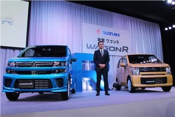 Suzuki revealed all-new Wagon R and Stingray in Japan The biggest Japanese carmaker, Suzuki has revealed 2017 Suzuki Wagon R and 2017 Stingray models in Japan. The all-new Wagon R gets the new changes in styling and additional design cues compared to its predecessor.  The new one gets the tallboy design and upright two-piece grille at the front side. The grille edged by the square headlamps on the Wagon R standard model.