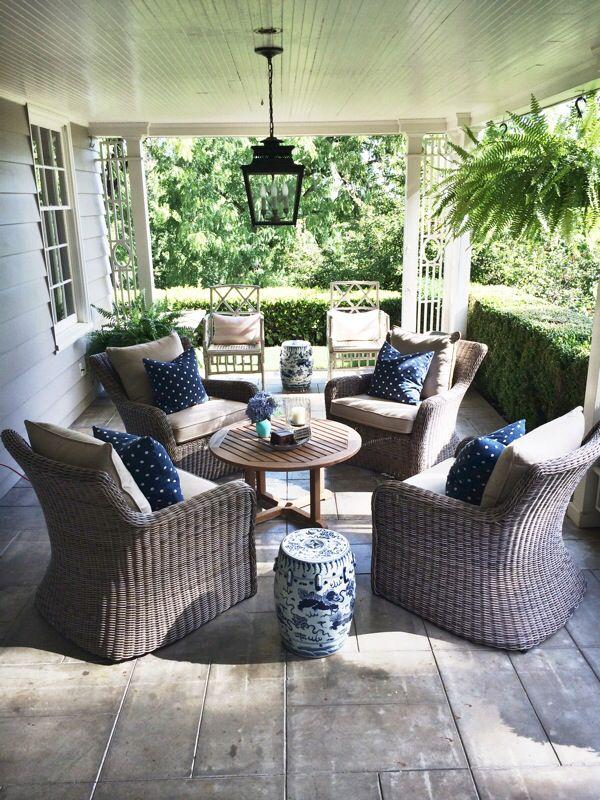 Kingsle Bate Sag Harbor Lounge Chair, Ballard Design Piedmont Lantern And  Legend Of Asia Garden