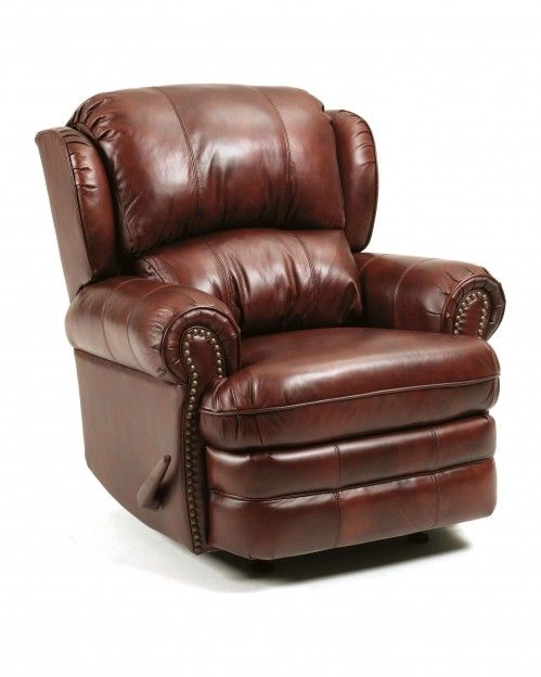Leather Swivel Rocker Recliner | Recliners/Leather Recliners - Hancock All Leather SWIVEL Rocker .  sc 1 st  Pinterest & 57 best Leather chairs images on Pinterest | Leather chairs ... islam-shia.org