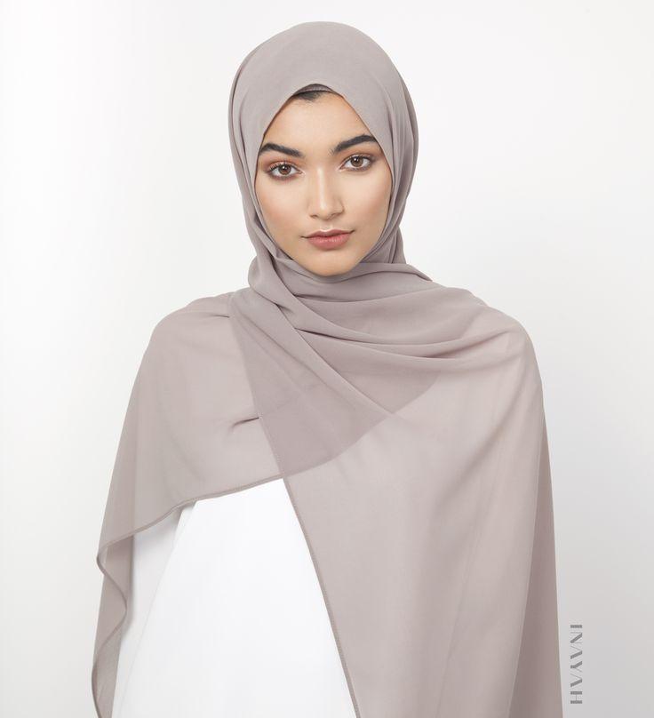 INAYAH   Ashes of Rose Soft Crepe #Hijab - www.inayah.co