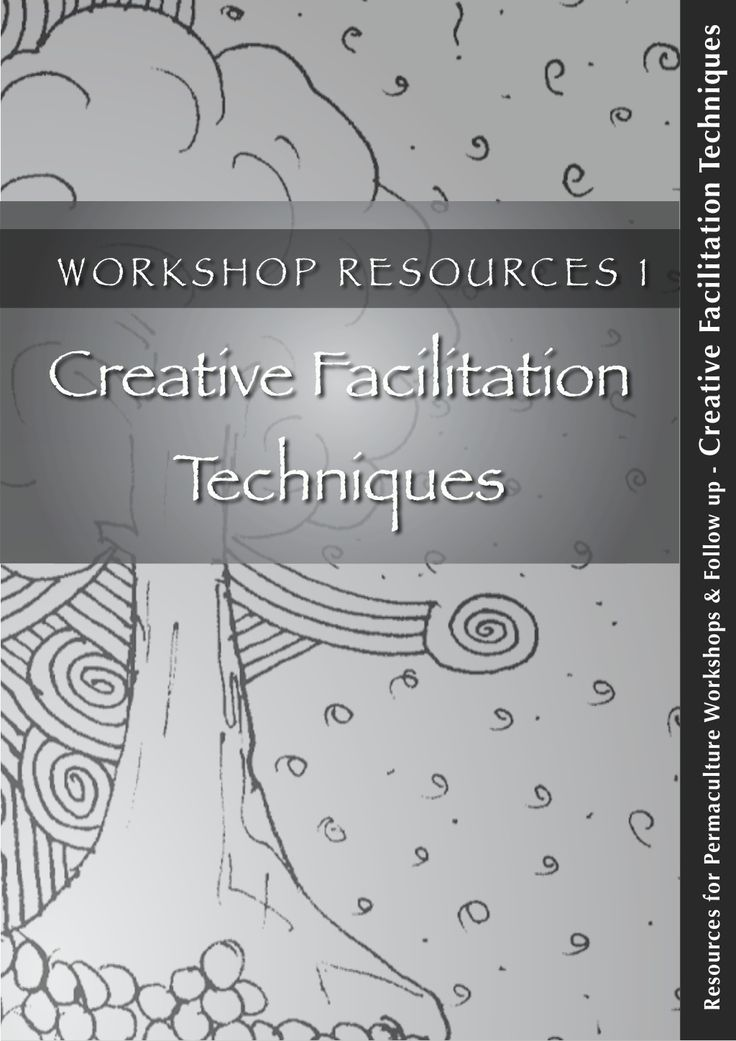 8 creative facilitation_techniques by Mamta Thakur via slideshare