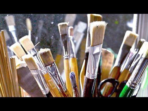 Qué materiales utilizar para pintar al óleo. Curso de pintura. Principiantes. - YouTube