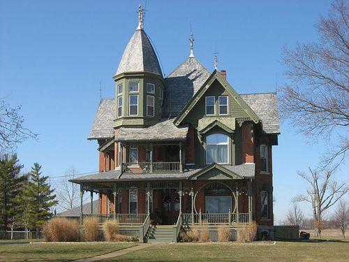 Die besten 25+ Viktorianische häuser Ideen auf Pinterest