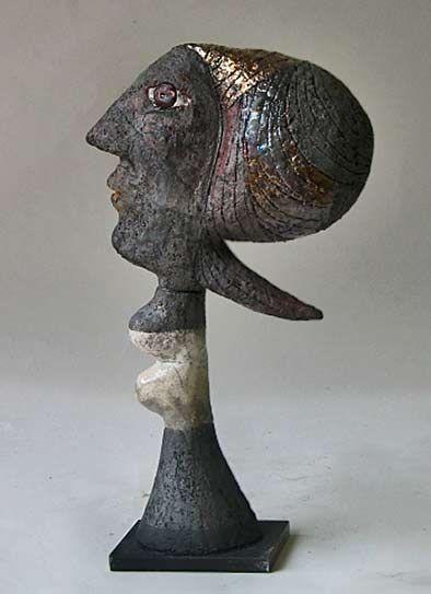 cerámica-busto-Roger-Capron