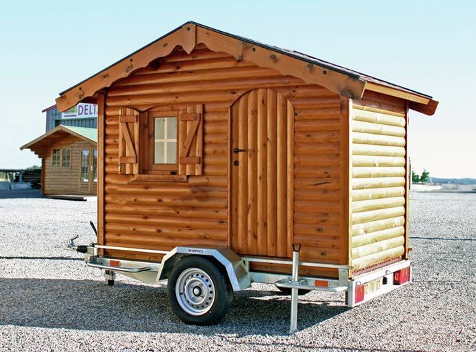 Single Axle Trailer Homes On Pinterest