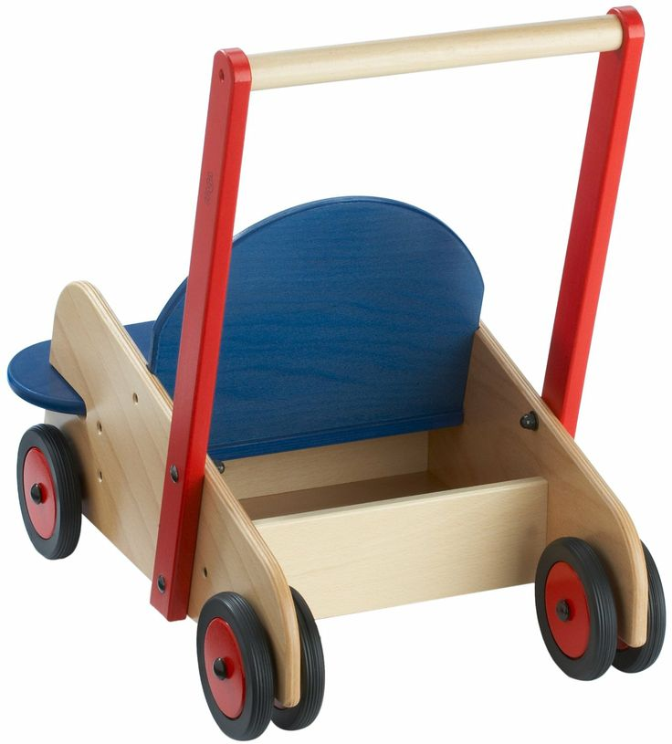 Lauflernwagen Holz Toys R Us ~   and Natural finish Additional storage to take along favorite toys