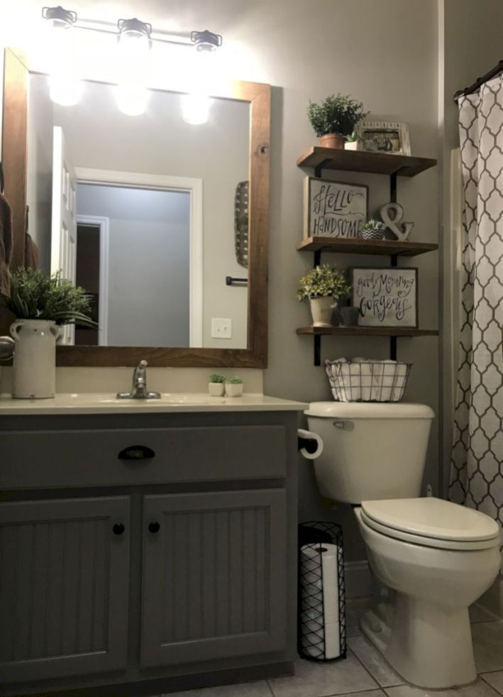 48 Delicate Bathroom Design Ideas For Small Apartment On A ... on Small Apartment Bathroom Ideas  id=24239