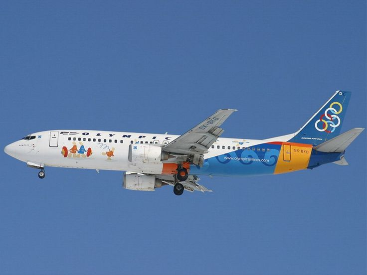 Olympic Airways B 737-484 (Amphipoli) [ SX-BKD] [Olympic games 2004 ]