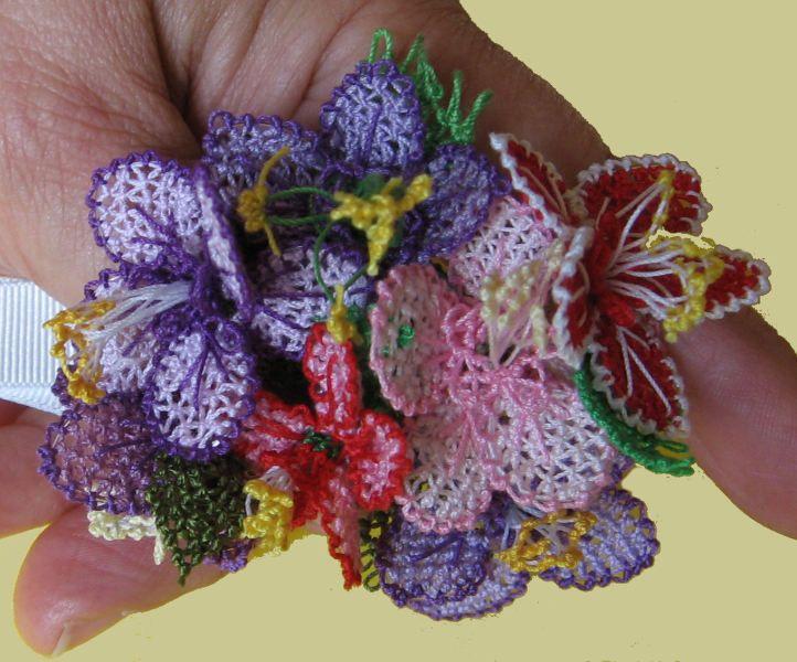 Oya flowers -- so beautifully delicate