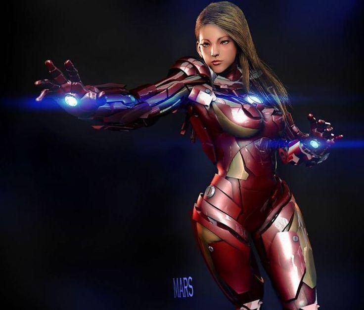 Female Iron Man Character Design by Mars — GeekTyrant