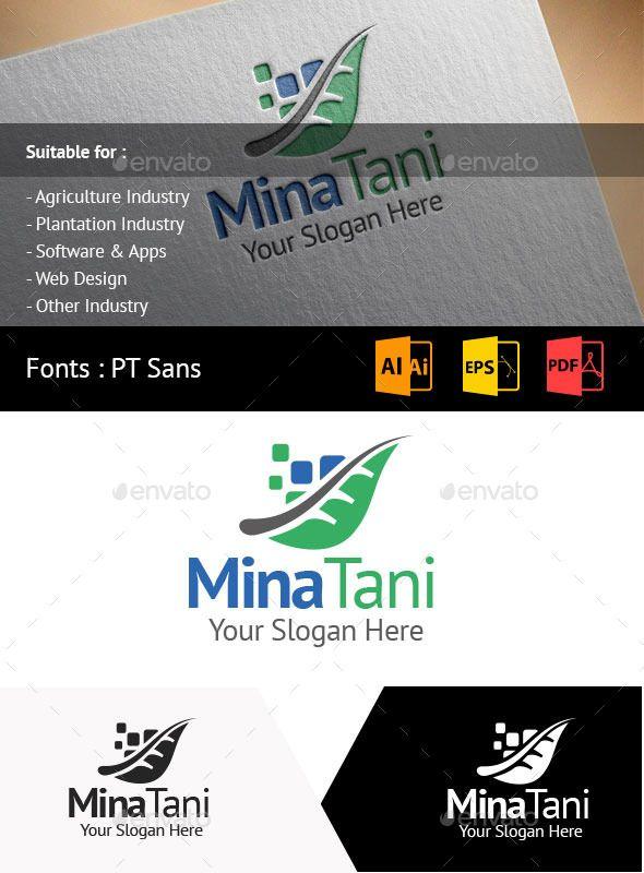 MinaTani Logo Template