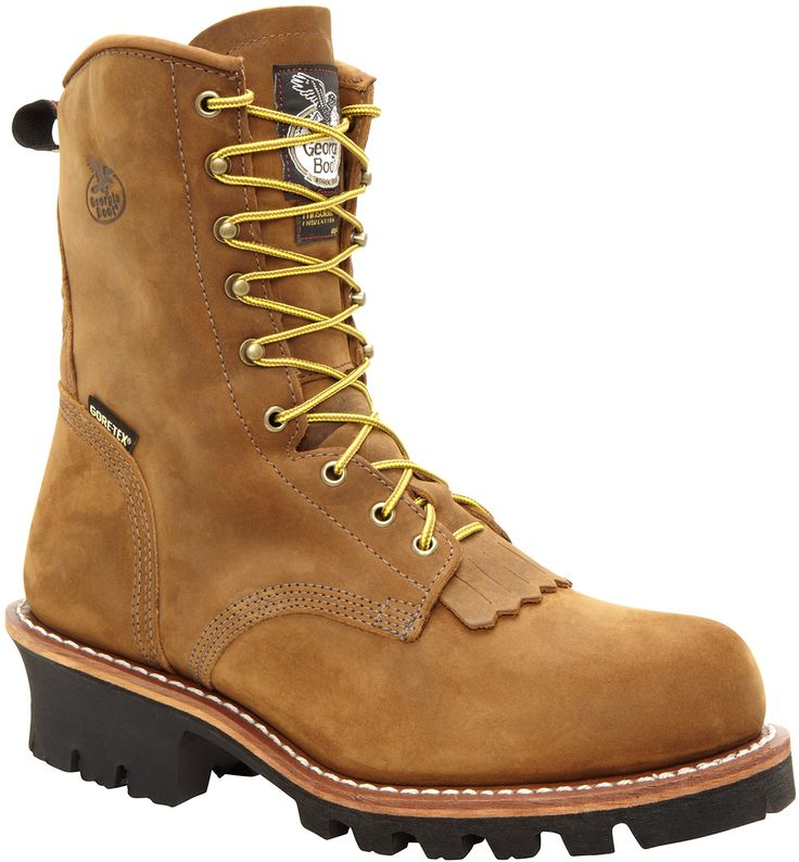 G9382 Georgia Men's Gore-Tex Safety Loggers - Tan Cheyenne