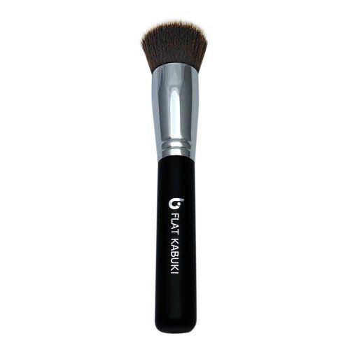 flat top brush for liquid foundation. flat top kabuki brush by beauty junkees: perfect liquid foundation brush, get full makeup for