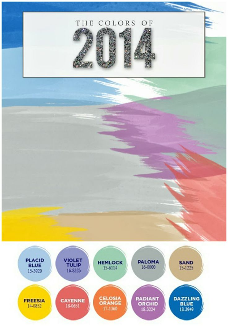 Pantone Colors Trends 2014