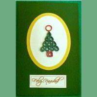 Handmade Paper Christmas Card