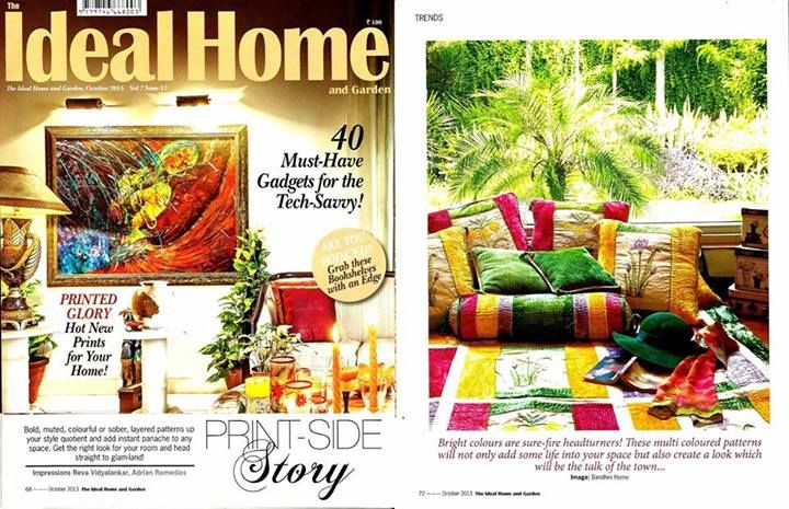 The Ideal Home and Garden- Oct'13
