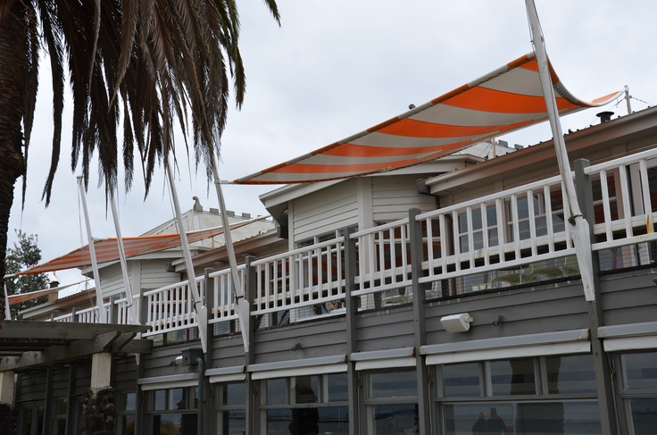We're Inside getting ready for our evening guests at Stokehouse St Kilda