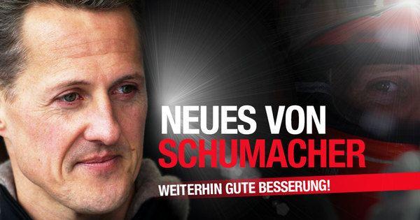 Keep Fighting! News-Ticker zu Michael Schumacher