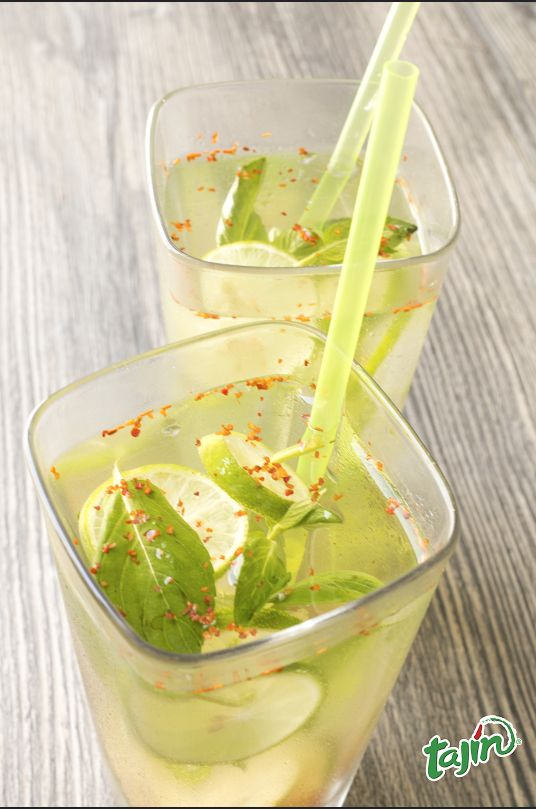 Cheers everyone! Cool off with a lime-infused water: easy to make and flavorful.