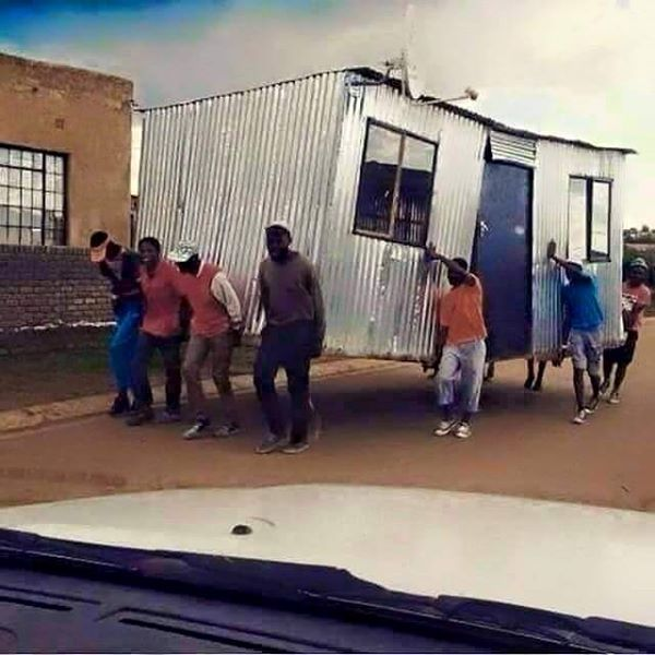 Moving house....in South Africa