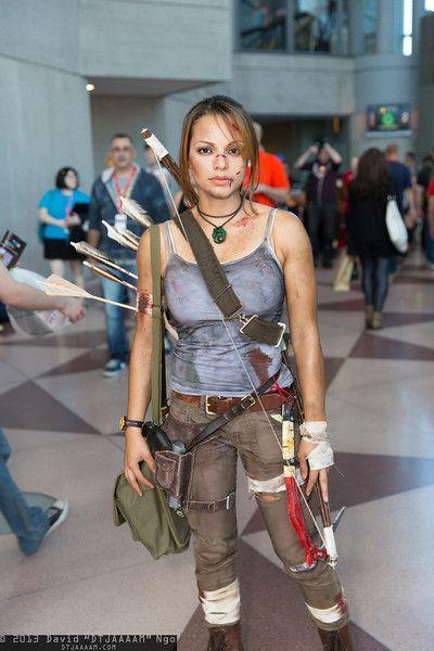 Lara Croft #cosplay   NYCC 2013