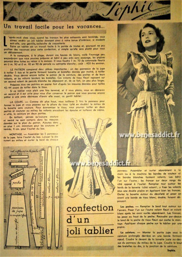 GRATUIT 22 superbes Patrons de Couture Vintage (robes, vestes, sacs ...
