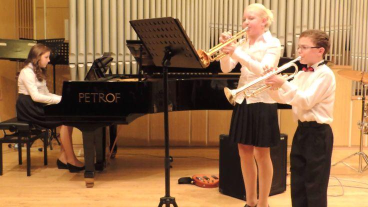 J. B. Loeillet: Allegro a moll - Komorní trio Harmonie