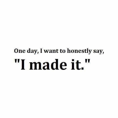 One day.....I will say this and love every minute I spend on movie or whatever I'm doing it