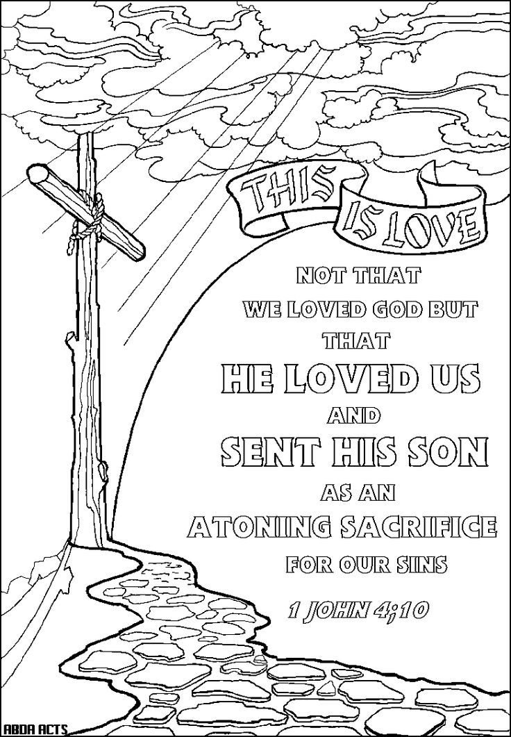 2058 best Christian Coloring Pages-NT images on Pinterest