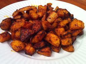 God mad og søde sager: Krydrede Butternut squash fritter