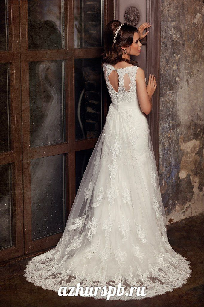 wedding dress 2016 lace beaded buttons