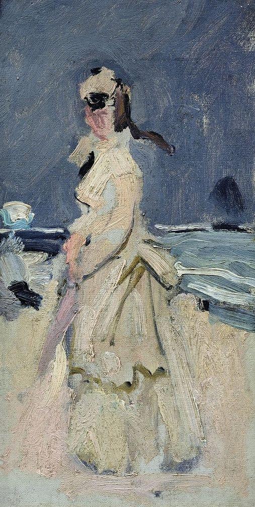 Camille sur la plage (C Monet - W 161)