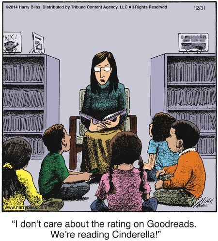 The hazards of 21st century read alouds
