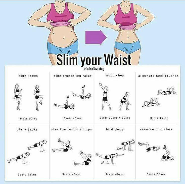 Waist slimming exercises